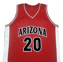 Damon Stoudamire College Basketball Jersey Sewn Red Any Size image 4
