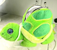 "Wild Republic Plush Turtle Purse with Clasp 6""  - $5.94"