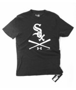 NWT Tri Blend Under Armour Chicago White Sox T-Shirt Small Loose Basebal... - $31.56