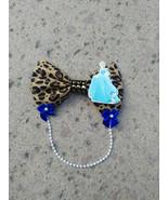 Leopard Print Cinderella Hair Bow - $5.00