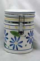 Certified International Corp Blue Flowers Coffee Canister - $9.00
