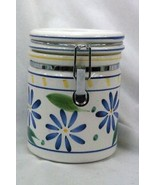 Certified International Corp Blue Flowers Coffee Canister - $8.18