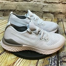 Nike Epic React Flyknit 2 Womens Gray Running Shoes Size 5.5 - $46.50