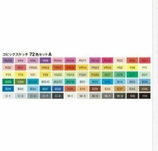 Copic C72A Classic Markers Set - 72 Piece image 2