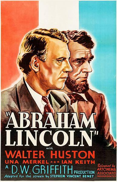 Primary image for Abraham Lincoln - 1930 - Movie Poster