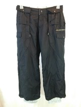 Pulse Snowboarding Pants Womens Small Vented Black Snow Pants - $25.65