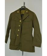 Original WWII US Army Forces Enlisted Uniform Jacket Sz 35 - $56.05