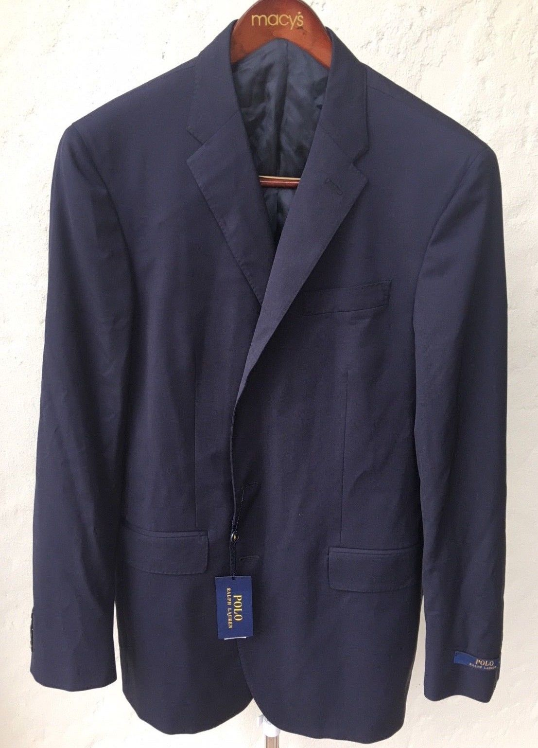 Primary image for $895.00  Italy POLO RALPH LAUREN MENS BASIC WOOL Coat 44 Long