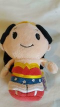 "4.5""HALLMARK ITTY BITTY'S WONDER WOMAN,DC COMICS,SUPER HERO,PLUSH,VELOUR... - $4.94"
