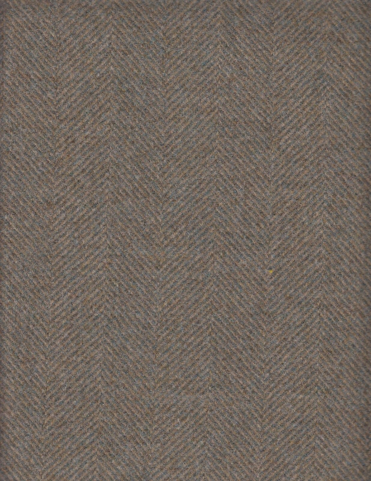 5.75 yards Moore and Sons Upholstery Fabric Herringbone Green GJ6
