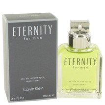 Eternity By Calvin Klein Eau De Toilette Spray 3.4 Oz 413073 - $50.40