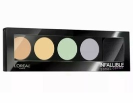 L'Oreal Infallible Total Cover 225 Color Correcting Kit ~ New AND Sealed - $9.79