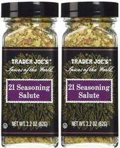 Trader Joe's 21 Seasoning Salute 2.2 oz - 2 bottles - $14.73