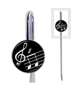 Musical Notes Treble Clef Music Metal New Bookmark - $15.29