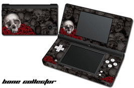 Skin Decal Wrap For Nintendo Dsi Gaming Handheld Sticker Bone Collector Black - $13.81