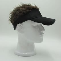 Adjustable Baseball Hat Man's Women's Toupee Wig Funny Hair Loss Cool Go... - $17.26