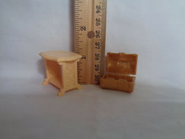 Playmobil Princess Castle Replacement Tan Accent Table & Small Chest image 4