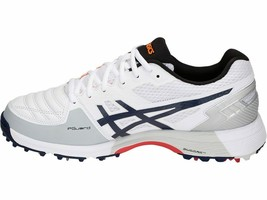 Asics Cricket Shoes Gel 300 Not Out For Men  Size  UK 9  White/Peacoat - $245.00