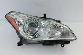 11-15 Infiniti M35h M37 M56 Q70 Headlight Hid Xenon Non-Afs Passenger Right RH
