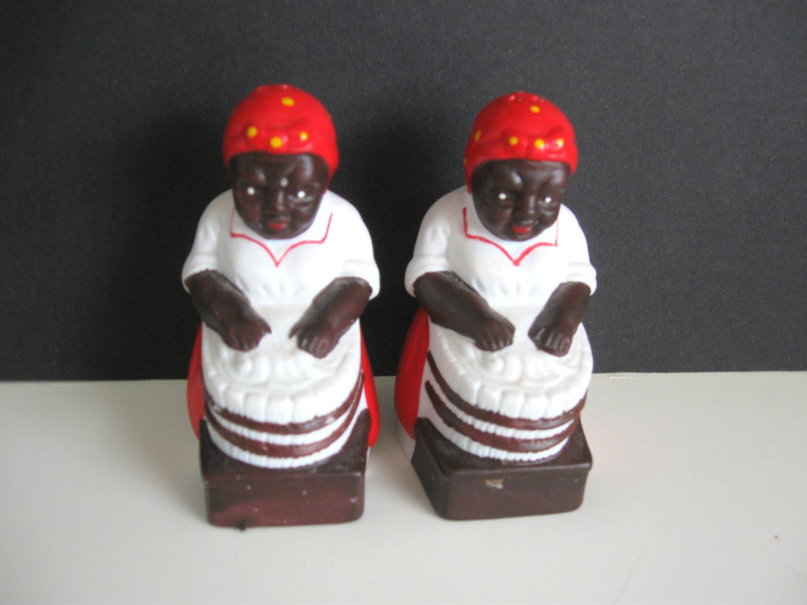 Black Americana Aunt Jemima Salt and Pepper Shaker Set