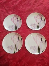 """4 Mikasa Vogue  7 5/8"""" Salad Plates - $12.99"""