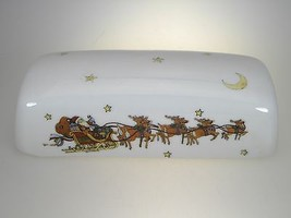 Portmeirion Christmas Story Butter Dish Lid (LID ONLY) - $40.16