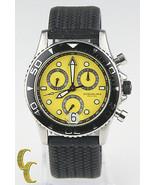 Stuhrling Original Men's Stainless Steel Quartz Chronograph Watch w/ Rub... - $173.90