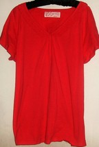 WOMEN'S PINK COTTON TOP SIZE 18/20 - $5.00
