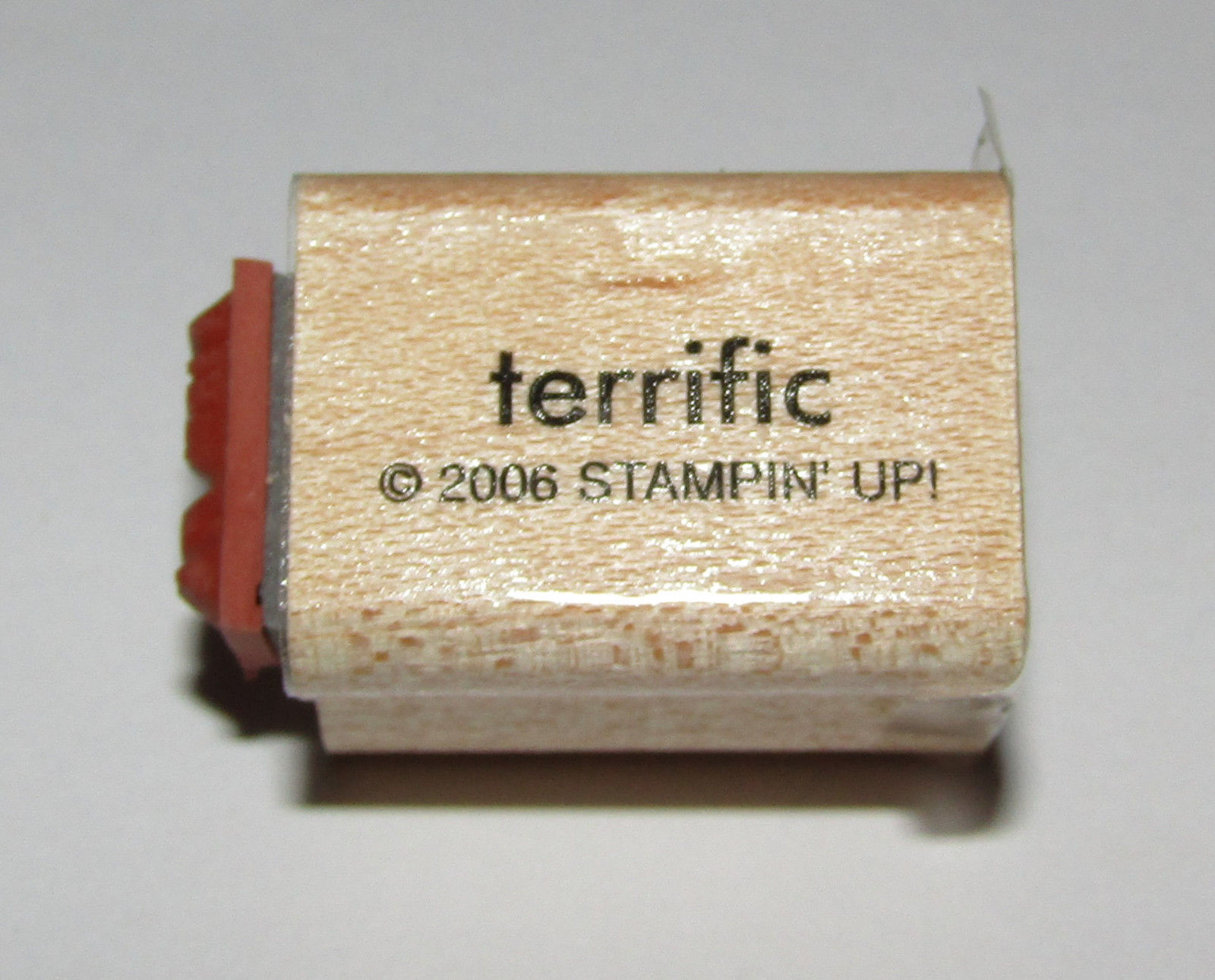 "Primary image for Terrific To My Rubber Stamp Mini Words Stampin Up Two-In-One WM 1"" Long"