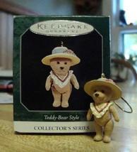 Teddy-Bear Style #2 Hallmark 1998 QXM5954 - $4.95