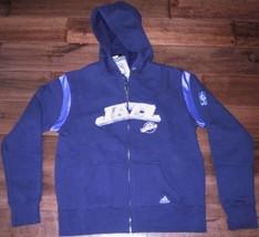 New Adidas Utah Jazz Hooded Sweatshirt Womens M Hoodie - $32.71