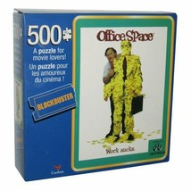Office Space Movie Work Sucks 500 Piece Jigsaw Puzzle Game Blockbuster N... - $11.36
