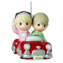 "Precious Moments, The Honeymoon Never Ends"", Porcelain Ornament, 161044 - $28.11"