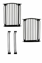 Dreambaby Chelsea Extra Tall Auto Close Security Gate Value Pack with 2 Gates an