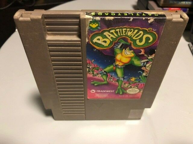 Primary image for Battletoads, Nintendo Entertainment System (NES) 1991, Tested