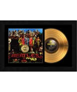 """""""Sgt. Peppers Lonely Hearts Club Band""""17x26 Framed 24ktGold Album w/Albu... - $198.95"""