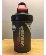 GNC AMP Prostak Blender Bottle Mixer Shaker Cup Black Gray 22oz 22 oz BP... - $10.99