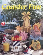 Coaster Fun Lighthouse Fish Cat Dog Plastic Canvas PATTERN/INSTRUCTION 7 Designs - $6.27