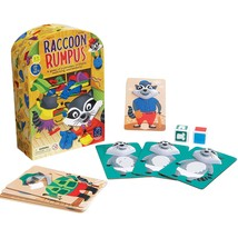 Educational Insights Raccoon Rumpus Game, Dice Rolling Color Matching  - £18.17 GBP