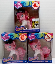 My Little Pony MLB Pinkie Pie Sporties Set Cardinals, Red Sox, Tigers  SDCC - $22.49