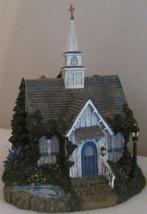 """Hawthorne Village Thomas Kinkade """"SEASIDE CHAPEL"""" Lighted     NIB - $34.62"""