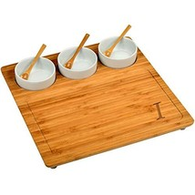 """Picnic at Ascot CB23 Charcuterie Cheese Board, Serving Platter, 13"""" x 13... - £33.90 GBP"""