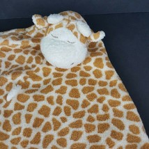 "Angel Dear Plush Tan Giraffe Lovey Security Blanket 13"" Baby Toy Stuffed  - $13.85"