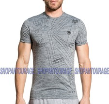 American Fighter Keizer FM7708 Men`s Sport Graphic Fashion T-shirt By Affliction - $34.78