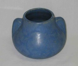 "NEAT Vintage 5"" Blue POTTERY Vase As Is - $18.59"