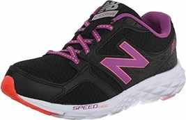 New Womens New Balance 490 v3 W490LB3 Running Shoes Black/Purple - $37.40