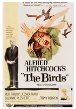 Art print POSTER Alfred Hitchcock The Birds 1 - $2.96+