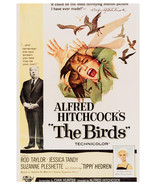 Art print POSTER Alfred Hitchcock The Birds 1 - £2.26 GBP - £16.67 GBP