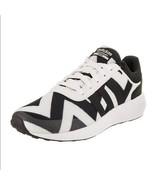 Adidas Cloudfoam NEO RACE Black White Chevron Stripes Shoes Sneakers Wm ... - $69.99