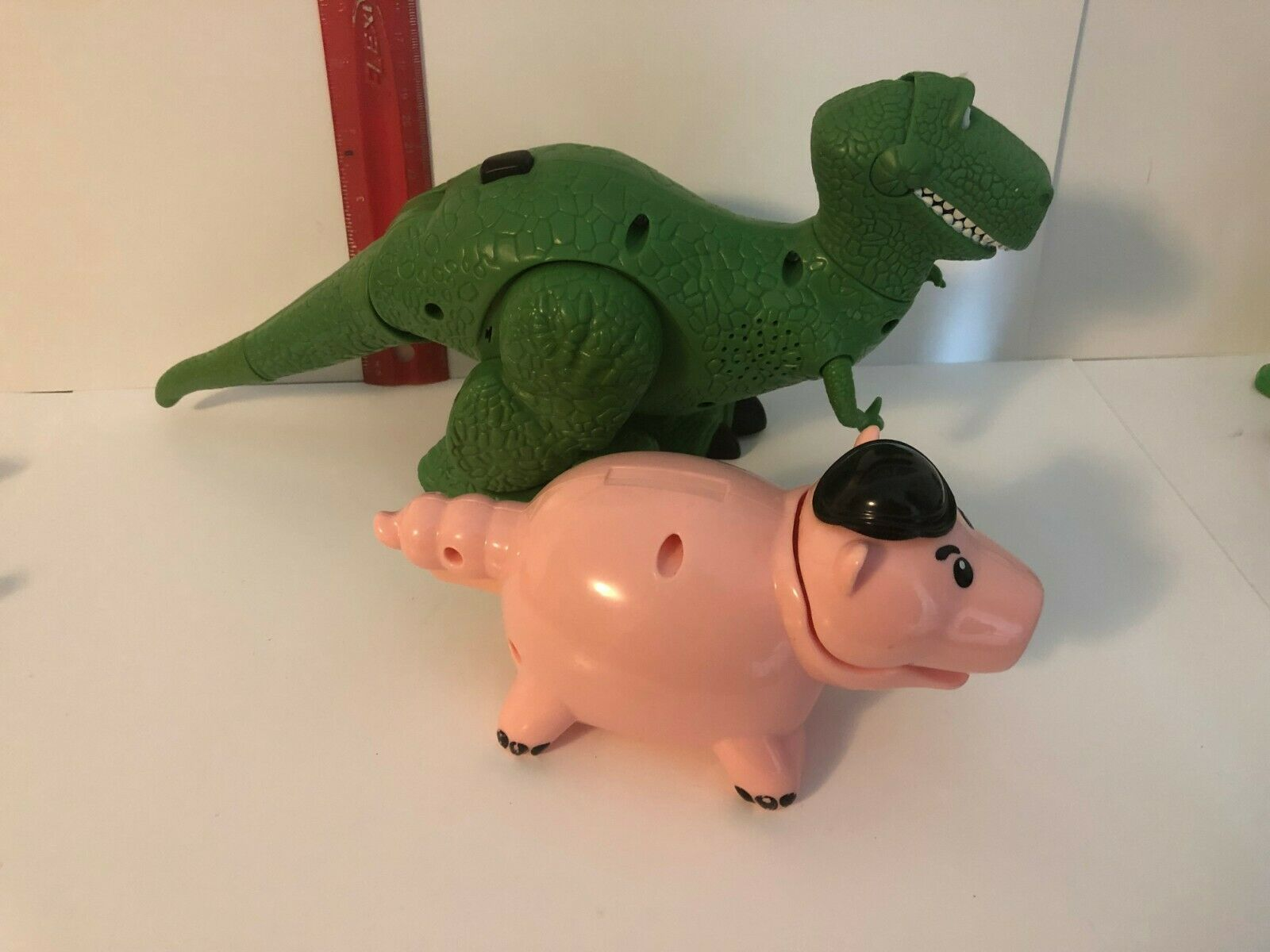 Toy Story Talking Walking Rex Loose Figure Mattel 2010 Tested Works Excellent